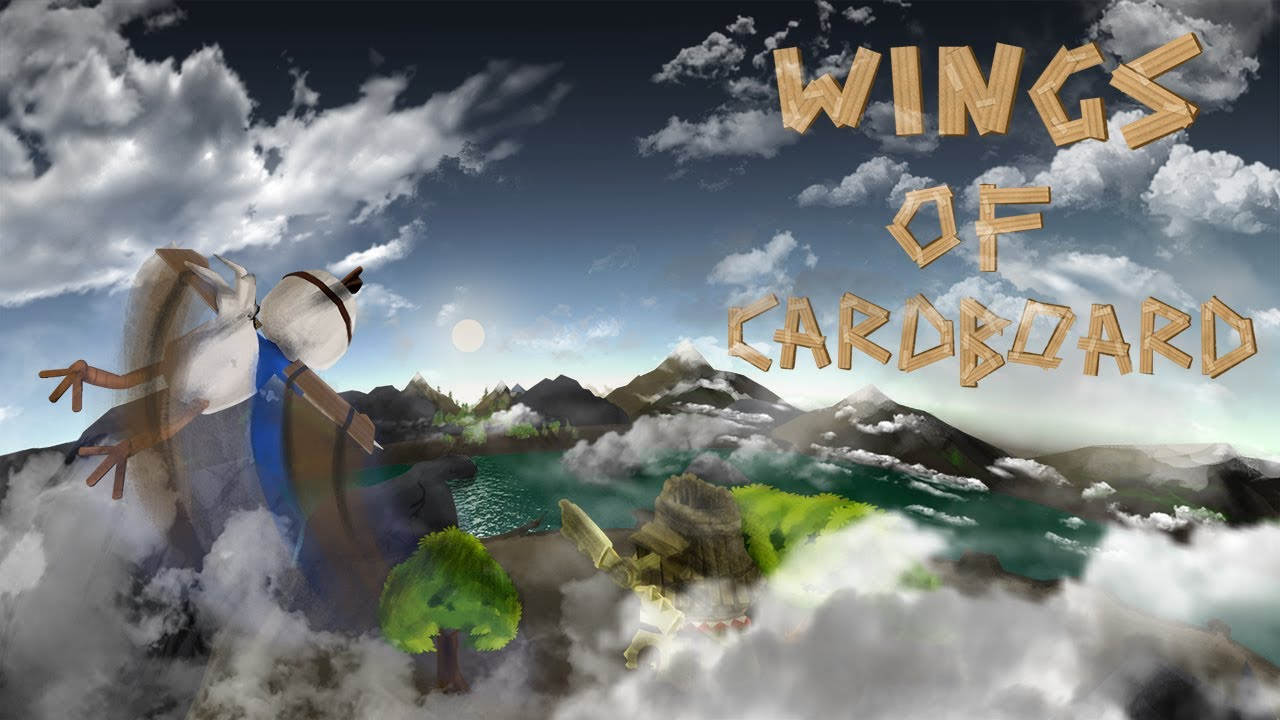 Wings of Cardboard Trailer and Gameplay