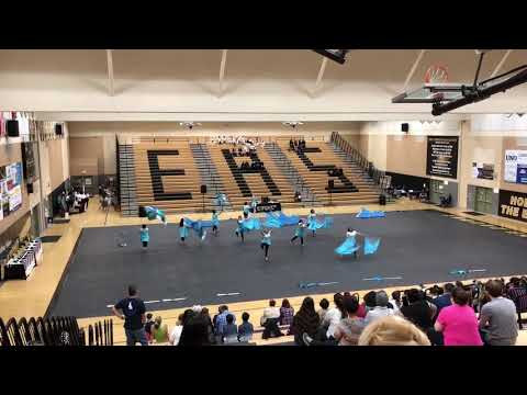 Modesto High School Winterguard Championships 2018