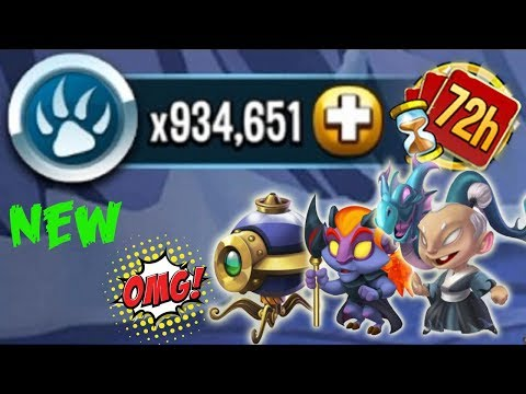 Monster Legends - 72 Hour Challenge tutorial get all Kihaku Firael Inknatius