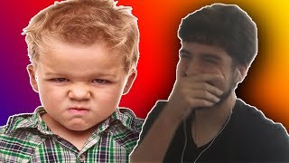 REACTING TO A HATER ROASTING ME!!