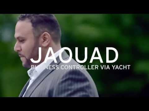 Yacht: welkom in ons netwerk, Jaouad, business controller via Yacht