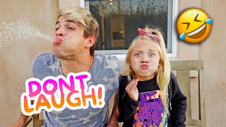 7 Year Old Everleigh Try Not To Laugh Challenge!!! *IMPOSSIBLE*