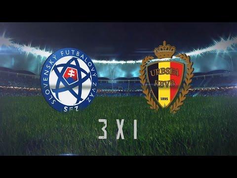 2 Rodada 25ª Copa 30  de Futebol Society Alpha 6. Eslováquia 3 x 1 Bélgica