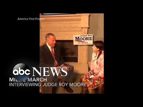Roy Moore gives new interview to preteen