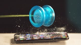 iPhone Xs vs Plastic YoYo! HOW IS THIS POSSIBLE?