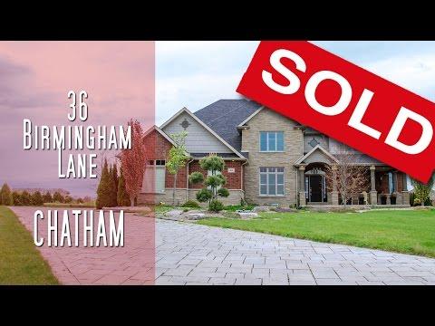 CHATHAM-KENT - 36 Birmingham Lane, Chatham [propertyphotovideo]