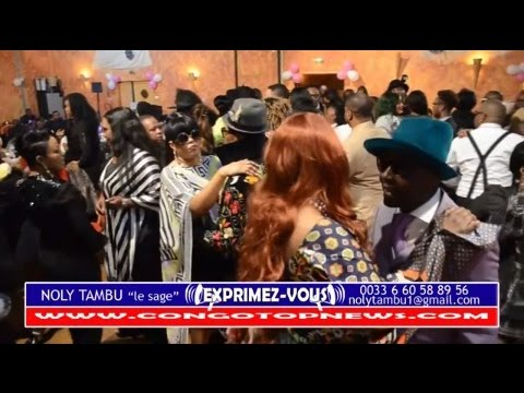 1er Anniversaire De NERCY MALUMBI SALOUM A Paris: Fimbu Na Fimbu YaBa Sapeur Chez NOLY TAMBU