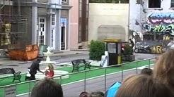 Crazy Action Stunt Show im Movie Park in Bottrop Kirchhellen 2010