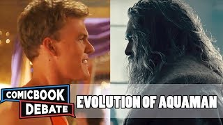 Evolution of Aquaman in Movies & TV in 3 Minutes (2017)