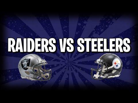 Madden 18 Raiders v Steelers