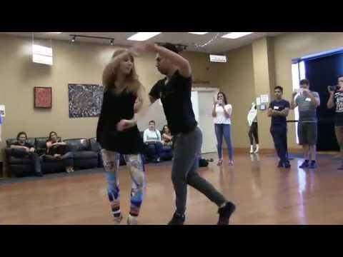 Julio and Yana Dance Bachata at DF Dance Studio  Utah