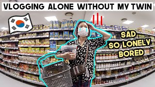 Vlogging Alone Without My Twin…