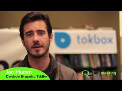 AnyMeeting WebRTC Hackathon - Jonathan Mumm, TokBox