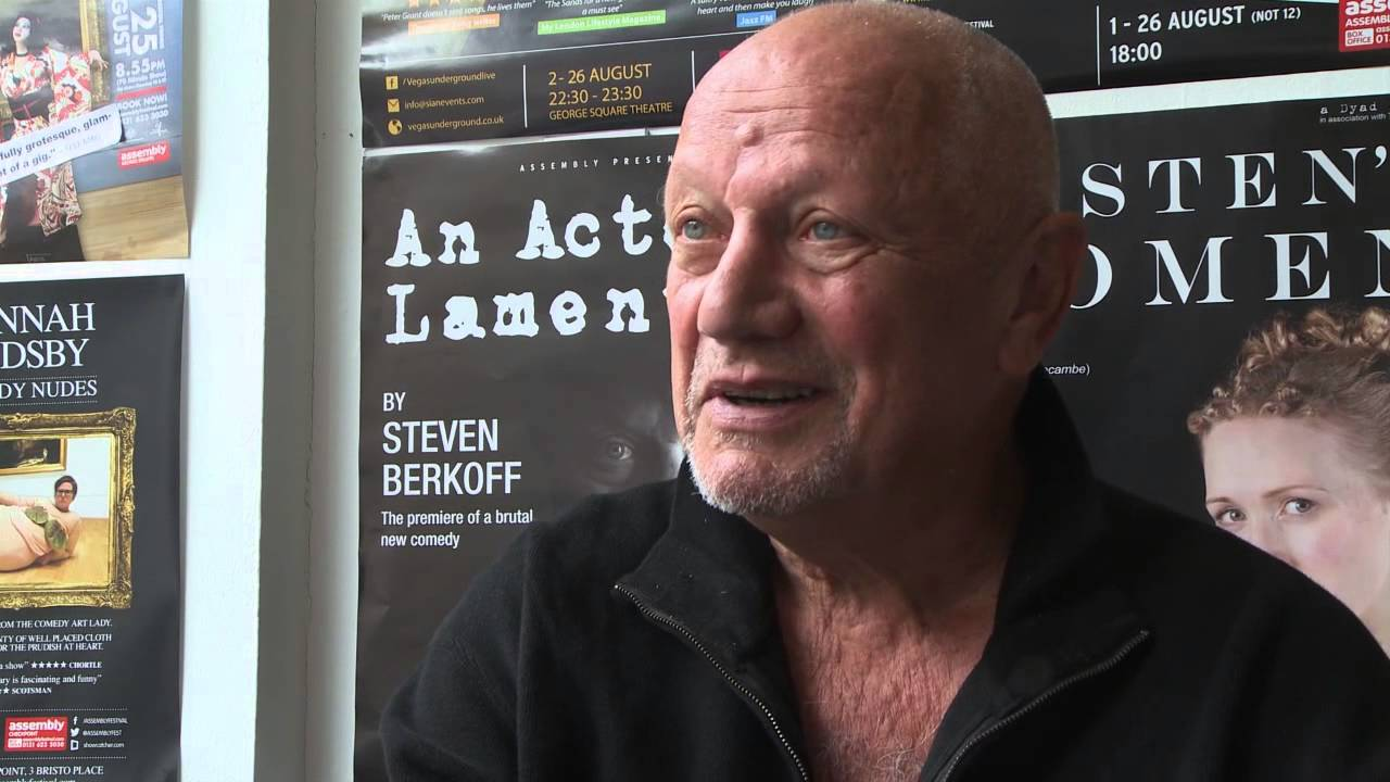 steven berkoff young