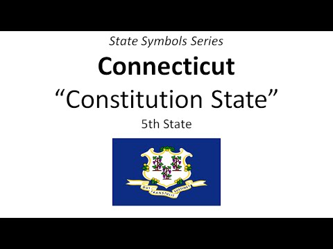 State Symbols Series - Connecticut
