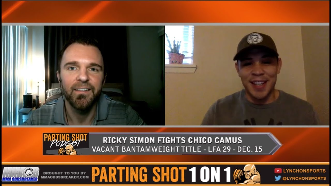 LFA 29's Ricky Simon Talks Vacant Bantamweight Title Fight Against UFC Vet Chico Camus