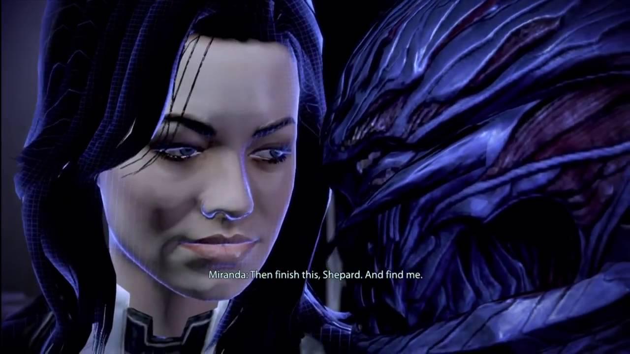 Mass Effect 3 dating Miranda