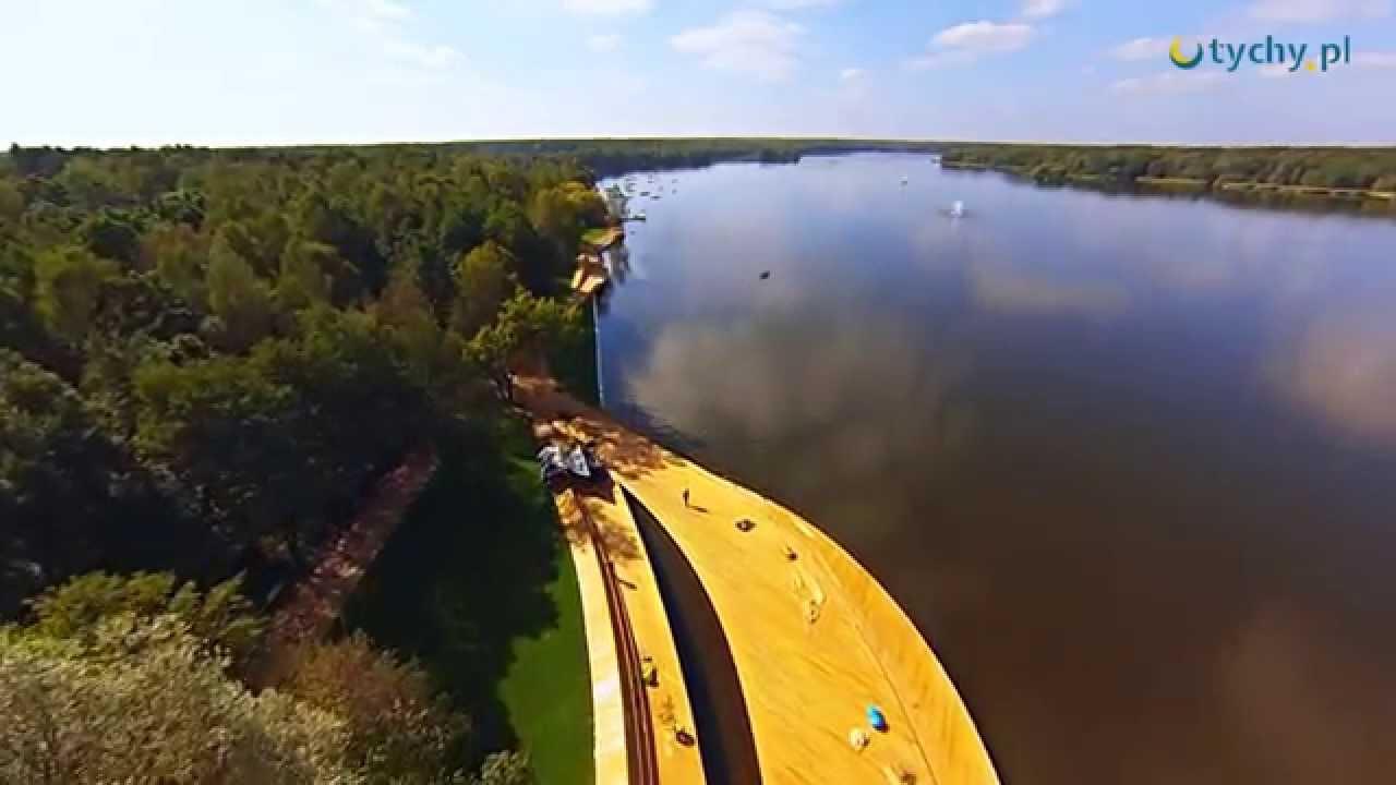 Tychy. Jezioro Paprocany. Nowe inwestycje 2014.