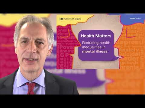 Reducing inequalities in mental illness