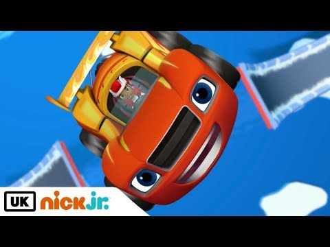 Blaze and the Monster Machines | The Polar Derby | Nick Jr. UK