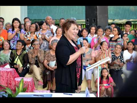 Hon  Maria Selena i. Diokno_Unveiling of the Church Marker.wmv
