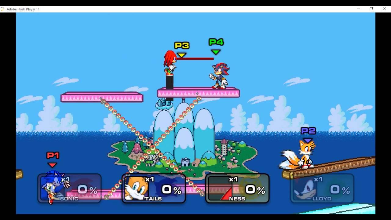 Ssf2 Mod Sonic
