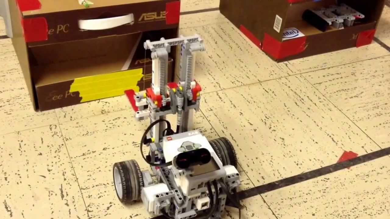 Lego Mindstorms Ev3 Forklift Youtube