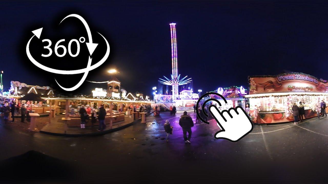 Weihnachtsmarkt In Rostock.360 Grad Der Rostocker Weihnachtsmarkt