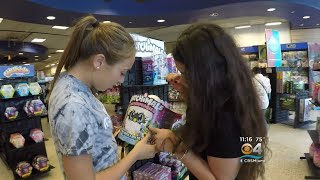 Coral Reef Senior High School Students Shop For Their Adopt-A-Families