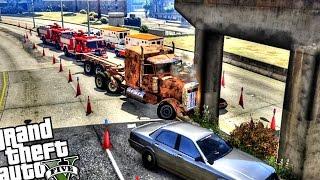 Truck Crash Accident - Gta 5 Pc Mod