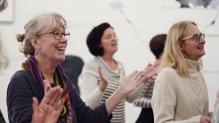 Sing Choir Flash Mob at The Tate, St Ives