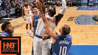 New York Knicks vs Orlando Magic Full Game Highlights / Feb 22 / 2017-18 NBA Season