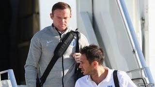 England Squad Arrives In Brazil For 2014 World Cup