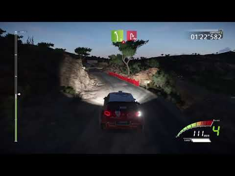 Rally Guanajuto Mexico - WRC 7 FIA - Media Luna - NIGHT - CLEAR SKY