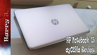 HP Notebook 15 ay029la Review