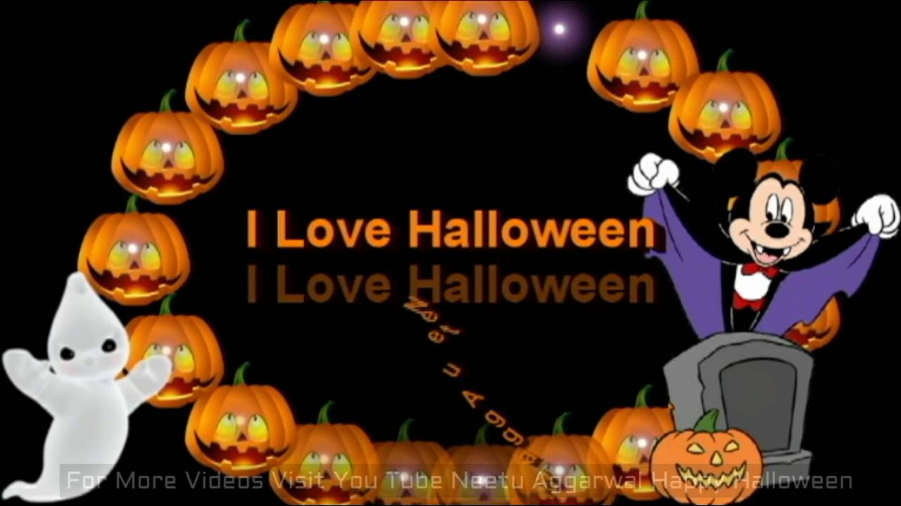 Happy Halloween Animated Wishes,Greetings,Sms,Sayings,Quotes,E Card,I Love  Halloween, Whatsapp Video   YouTube