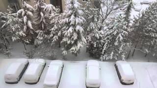 Ankarada Feci Kar Yağıyor