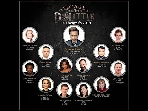 The Voyage of Doctor Dolittle 2019 Movie Trailer, Cast and Crew