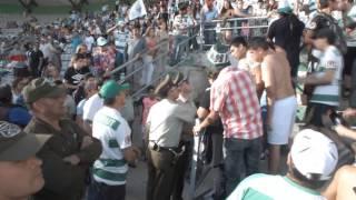 DEPORTES TEMUCO vs deportes concepcion Incidentes!!