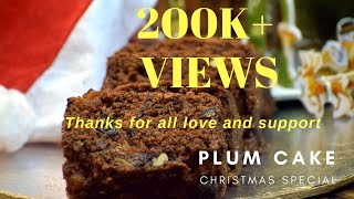 Plum Cake |Rich Fruit Cake |Christmas Cake| Desserts and Sweets by Flavors