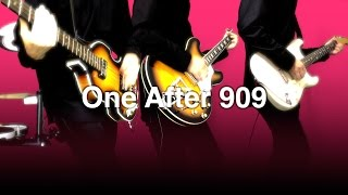 THE BEATLES : One After 909 - instrumental cover