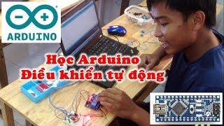 Arduino - Học lập trình ứng dụng điều khiển tự động - trung tâm dạy thêm Thủy Tiên