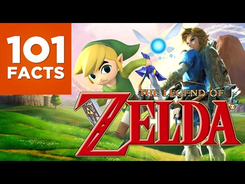 101 Facts About The Legend of Zelda
