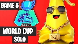 Fortnite World Cup SOLO Game 5 Highlights [Fortnite World Cup Highlights]
