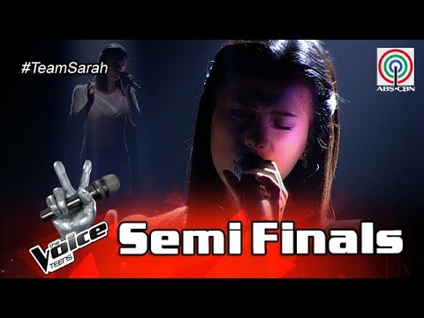 The Voice Teens Philippines  Semifinals: Nisha Bedaña - Can't Take That Away