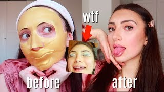 forcing a glow up after my breakup *intense transformation* ad