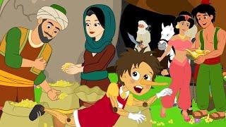 PRINCE: Alibaba & 40 Thieves + Alladin & Magic Lamp + Pinocchio I बच्चों की नयी हिंदी कहानियाँ