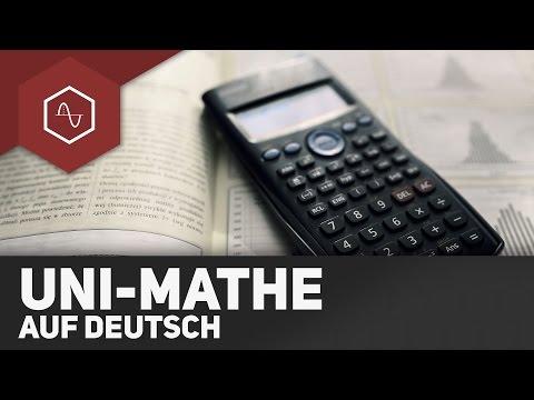 Uni-Mathe auf Deutsch