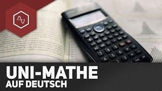Uni-Mathe auf Deutsch ● Gehe auf SIMPLECLUB.DE/GO & werde #EinserSchüler