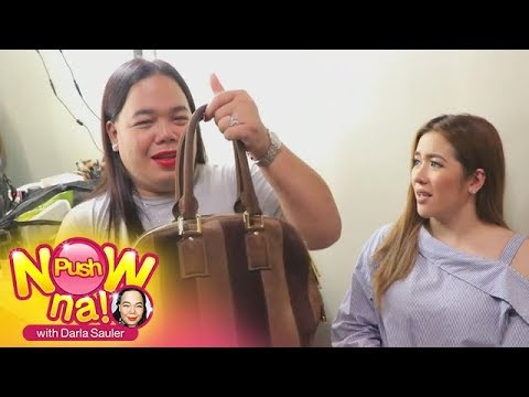 Push Now Na: Angeline Quinto's bag raid